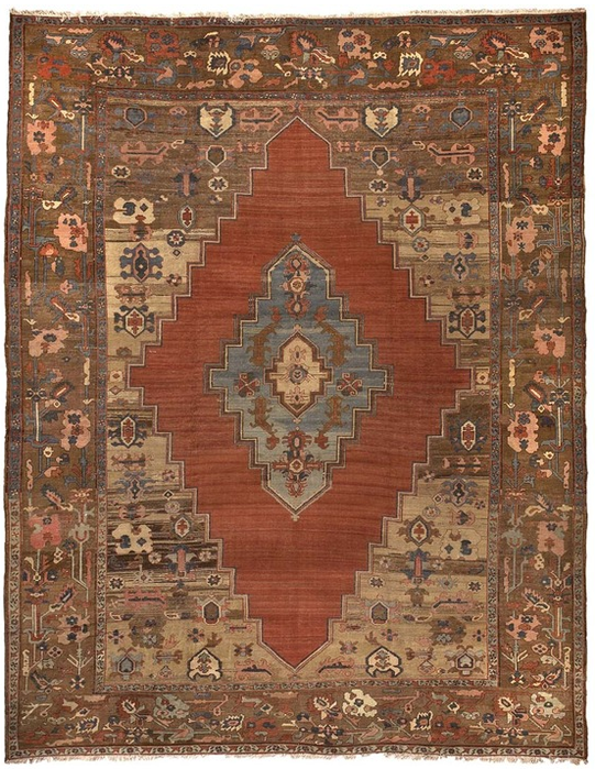It Doesn't take a Russian Spy to Find the Hidden Messages in Antique Rugs