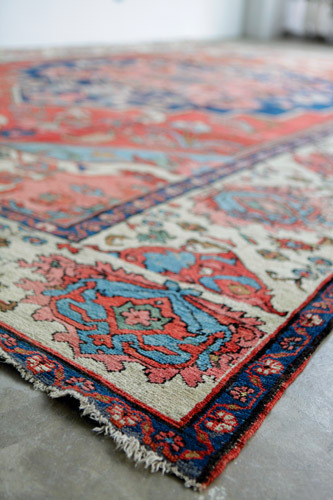Antique Persian Rugs: Antiquity and Artistry