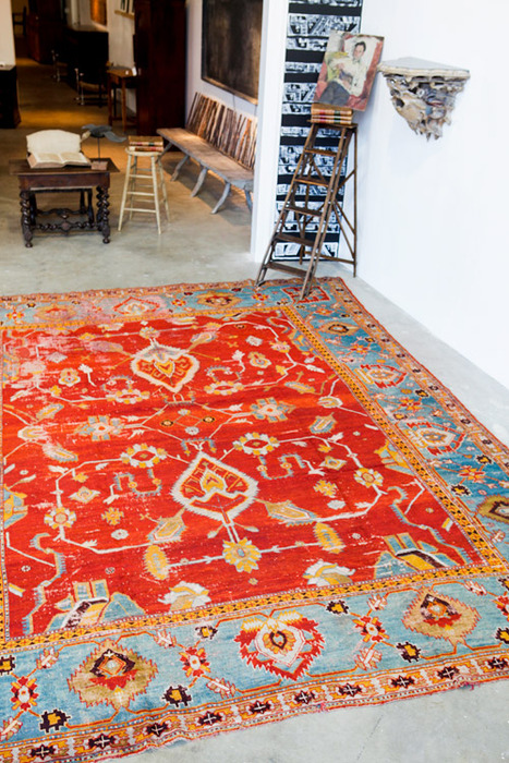 The Vibrant Colors of Antique Rugs
