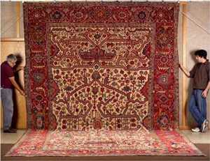 Perisan Rugs Auctioned Off
