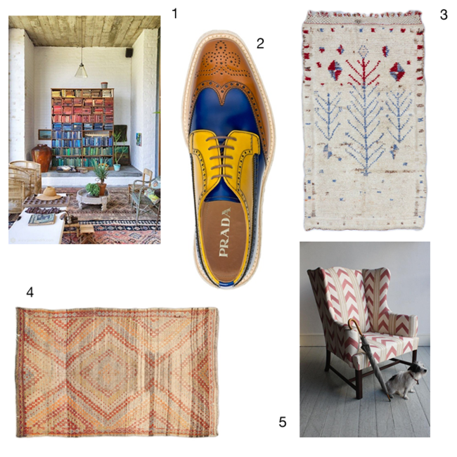 Antique Carpets & Vintage Rugs from Woven Accents on Pinterest