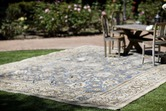 Antique Distressed Sultanabad Rug