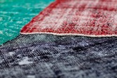 Distressed Over-Dyed Rugs